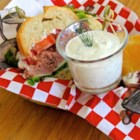 Roast Beef Horseradish Sauce - Use this recipe to easily make your own horseradish sauce for roast beef with prepared horseradish, mayonnaise, sour cream, dill, and lemon juice.