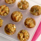 Frozen Seasoning Pods - Chop a big batch of veggies, add seasoning, and freeze in ice cube trays for quick vegetable cubes to add to soups, eggs, or roasts.