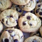 Easy Chocolate Chip Cookies - These chocolate chip cookies are so soft and chewy, it is hard to believe they are made from a cake mix.