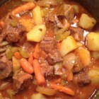 After-Church Stew - This beef stew is slow-cooked in the oven, lending your home a smell of delicious comfort food while you attend to other matters.