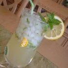 Lemonade-Mint Iced Tea - A refreshing and easy to prepare iced tea. You can vary the amounts of mint and sugar depending on your tastes.