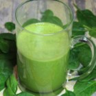 Spinach and Banana Power Smoothie - This vegan spinach and banana power smoothie provides a soy- and protein-rich pick-me-up that tastes delicious.
