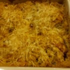 Curry Chicken and Rice - A family-pleasing chicken and rice casserole gets a flavor lift from wild rice mix and curry. Bone-in chicken thighs will stay moist.