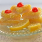 Luscious Lemon Triangles - These lemony treats use lemon zest and fresh lemon juice to deliver a high-quality version of a classic dessert.