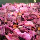 Sweet and Sour Red Cabbage - This colorful side dish is flavored with brown sugar, caraway seeds, and vinegar, and is traditionally served as part of a Swedish smorgasbord.