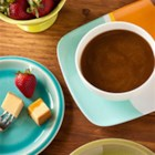 Butterscotch Caramel Dip - A delicious dip for all to enjoy!  Use as dip for fruit, pretzels, or small pieces of angel food cake.