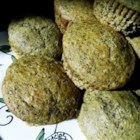 Green Tea Muffins - These rich delicious muffins are made with the Japanese green tea powder, matcha.
