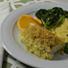 Haddock Citrine - Fresh orange juice and zest give this lightly breaded haddock dish a bright and refreshing flavor.