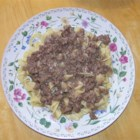 Army SOS Creamed Ground Beef - In the Army, this ground beef dish flavored with Worcestershire sauce is traditionally served on toast, but it also goes well over egg noodles. Add sauteed onions, mushrooms, or bell peppers to vary the taste.