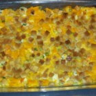 Creamy Squash Casserole - Creamy and comforting, this side dish casserole has tender pieces of butternut squash in a sour cream sauce with herb-flavored stuffing mix.