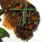 Beef Tenderloin with Ginger-Shiitake Brown Butter - Asian inspired flavors with a French technique give this dish it's own uniqueness. It's easy to make as well!