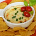 Quick and Easy White Cheese Dip - Whip up a batch of white cheese dip that is quick and easy to prepare for potlucks or an appetizer before dinner.