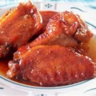 Sweet and Gooey Chicken Wings - Sweet and gooey chicken wings prepared with common ingredients, very tender.