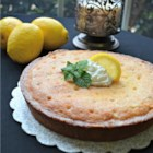 Heavenly Lemon Cake - Lemon cake topped with a simple lemon syrup uses minimal ingredients and tastes so heavenly people will be asking for the recipe.