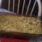 Chicken and Wild Rice Casserole - Chicken, wild rice, and mushrooms are given fine treatment in this elegant casserole.