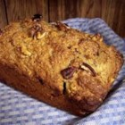 Banana Wheat Bread - Whole wheat flour and wheat germ give a mild, nutty undertone that complements the chopped pecans in this honey-sweetened bread.