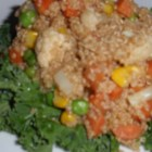 Healthy Quinoa Salad - Quinoa is tossed with steamed vegetables in a light vinaigrette in this quick and easy recipe for quinoa salad.