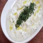 Haydari (Turkish Yogurt Dip) - This recipe makes a thick and tangy yogurt dip popular in Turkey.