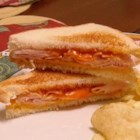 The Earl's Sandwich - American cheese and Russian dressing get along quite well in this turkey sandwich.