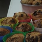 Jam Muffins - A sweet basic muffin, it 's flavored with jam to make a quick and tasty breakfast nibble.