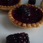 Blackberry Butter Tarts - Tart fresh blackberries and lemon complement a sweet butter tart filling, like a fruit tart married with a butter tart.