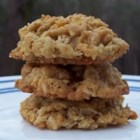 Flying Saucers - Hearty cookie with oats, coconut and wheat flakes cereal. Great for a snack.
