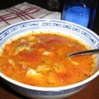 Manhattan Clam Chowder II - A real easy and tasty Manhattan Clam Chowder.