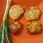 Chapaleles - Fried mashed potato cakes with pork rinds! Woo-hoo!!