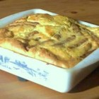 Savory Sausage Toad-in-the-Hole - A simple and hearty oven baked pancake with sausage links.