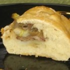Bierocks (German Meat Turnovers) - Pastry baked with a savory beef, onion, and cabbage filling. This is a recipe from my friend's aunt. She served it during Oktoberfest.