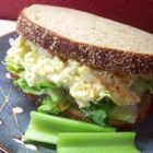 Egg Salad I - This is my favorite recipe for egg salad because it uses little mayonnaise and plenty of dill.