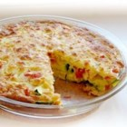 Photo of: Zucchini Tomato Pie - Recipe of the Day