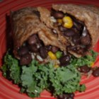 Gracie's Amazing Vegetarian Burritos - Quick and easy vegetarian burritos are packed with black beans, pinto beans, brown rice, and corn for a simple and satisfying meal.