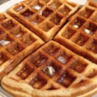 Gluten Free Waffles!! - Sorghum flour, tapioca starch, xanthan gum, and baking powder stand in for baking mix or all-purpose flour in this waffle recipe.