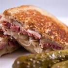 Reuben Sandwich II - These sandwiches are really delicious and easy to make. They are one of my family's fix-it-quick favorites. I like to serve them with big bowls of steaming vegetable soup and dill pickles on the side. Enjoy!