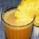 Orange Pineapple Drink - Orange and pineapple juices blend with orange sherbet to make a drink for all ages, perfect for a hot summer's day!