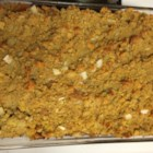 Grandma's Stuffing - This is a stuffing that my grandmother used to make every time we had turkey. It's the best in the world. She used to put some in the turkey and some cold in the fridge raw. It tastes good this way as well.