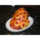 Rita's Sweet Holiday Baked Ham - This is my mom's holiday ham recipe. She would cook this easy recipe on my birthday. Made with maraschino cherries, sliced pineapples, brown sugar, honey and much more yummy ingredients. You'll love this ham dinner, and it's not just for the holidays, but great any time of year!