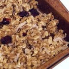 Cinnamon Stove Top Granola - This is a super fast and simple to make granola  that comes out tender, crisp and delicious every time!  It's very versatile, simply add your favorite dried fruits, nuts, toasted coconut, etc.  If you prefer your granola harder, just cook it a little longer at the end. Using butter will give it a deeper/heavier flavor, oil gives it a lighter flavor, more like the commercial granolas you find at your grocery store.