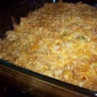 Potato Casserole III - This is an awesome side dish that I can't eat enough of it! A cheese and hash brown mixture is covered with a simple, crunchy topping and baked to perfection!
