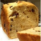 Rum Raisin Bread - You will give thanks to your bread machine for this one, a gently sweetened, cream-rich yeast bread with rum-plumped raisins scattered throughout.