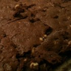 Brownies IV - Chocolaty brownies topped with a rich semisweet chocolate glaze. Serve with ice cream or milk.
