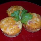 Sausage Egg Muffins - Sausage, eggs and seasoning baked into savory 'muffins'.