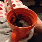 Easy Brownie In A Mug - Make this quick and easy brownie in a mug with just a few ingredients and a quick cook in the microwave.