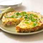 Spanish Omelet - Our Spanish Omelet gets mucho flavor from smoked ham, VELVEETA, garlic and chopped fresh cilantro.
