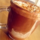 Dark Chocolate Hot Cocoa - Dark chocolate hot cocoa is a quick and easy treat to make when you are having a chocolate craving. Serve to someone special on Valentine's Day.