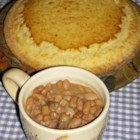 Southern Ham and Brown Beans - This is the same recipe my mother's side of the family has been making for years, with my own special touch. Serve it with all of the fixin's. It goes great with cornbread, fried potatoes and fried cabbage.