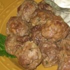 Margaret's Keftedes (Greek Meatballs) - This is my yia yia's recipe--a family favorite straight from the village of Kyparissia. Serve as an appetizer or with tzatziki, Greek salata, and pita or pasta for a full meal. They taste best served at room temp and make for wonderful leftovers.  If you don't care for lamb, try using all beef instead.