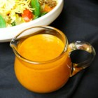 Sweet and Spicy French Dressing - Get a homemade Catalina-style French dressing quickly and easily by blending ketchup, vinegar, and oil with seasonings.