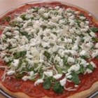 Basil Goat Cheese Pizza